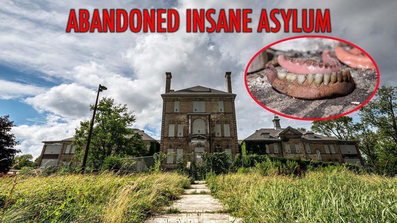 Exploring a notorious abandoned insane asylum terrible