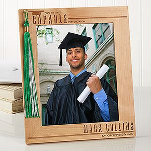 graduation tassel display personalized 8x10 picture frame