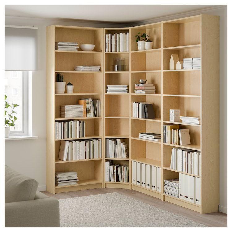 Bookcase Birch 2019Libreros Veneer Bookcase Billy Ikea En 7y6gfb