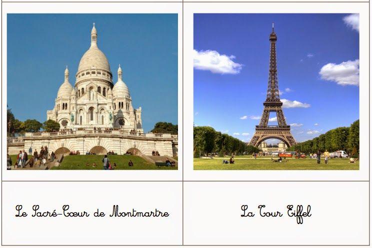 Les Monuments De Paris Cartes De Nomenclature Monuments Nomenclature Tour Du Monde