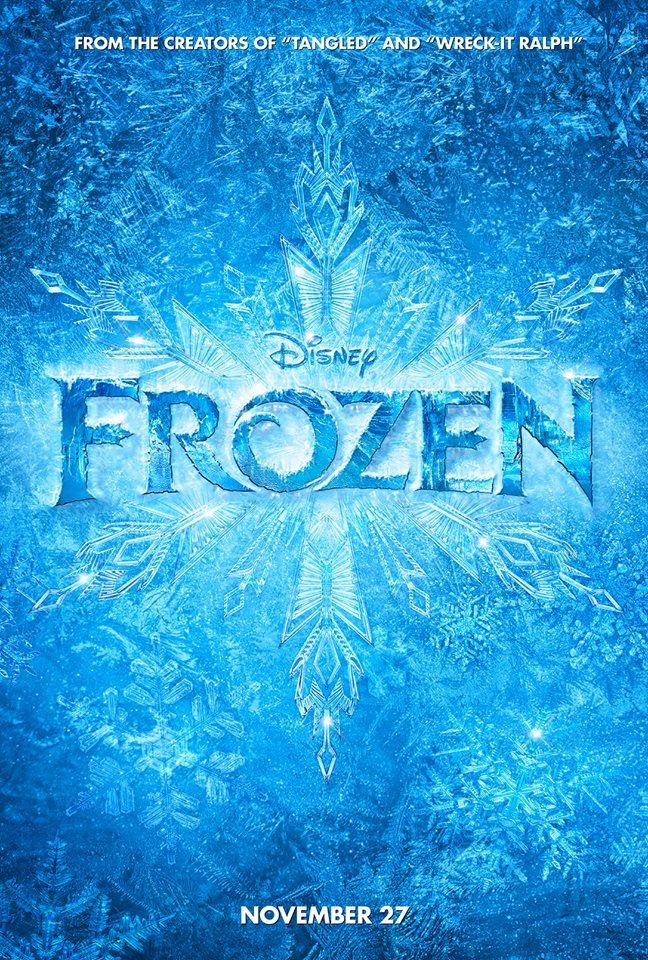 "Frozen the movie, ""Let It Go"""