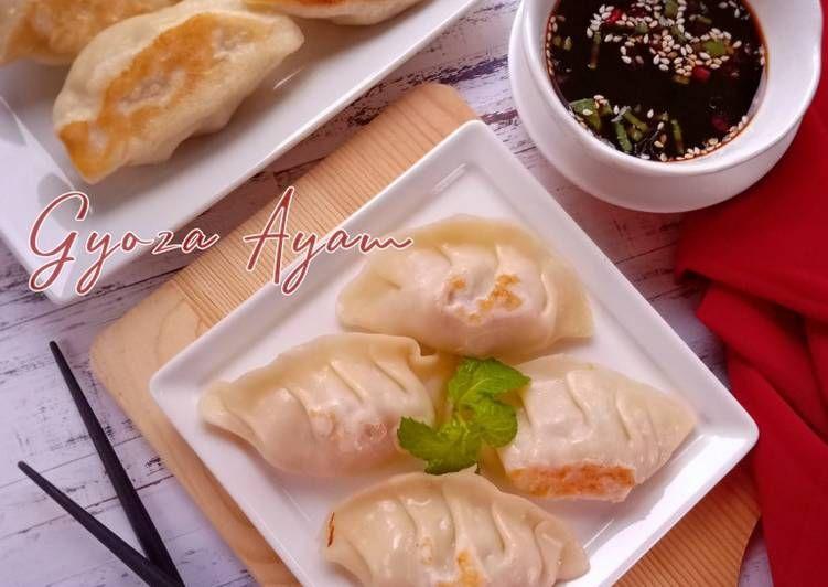 Resep Gyoza Ayam Oleh Anik Wina Resep Makanan Makanan Dan Minuman Memasak