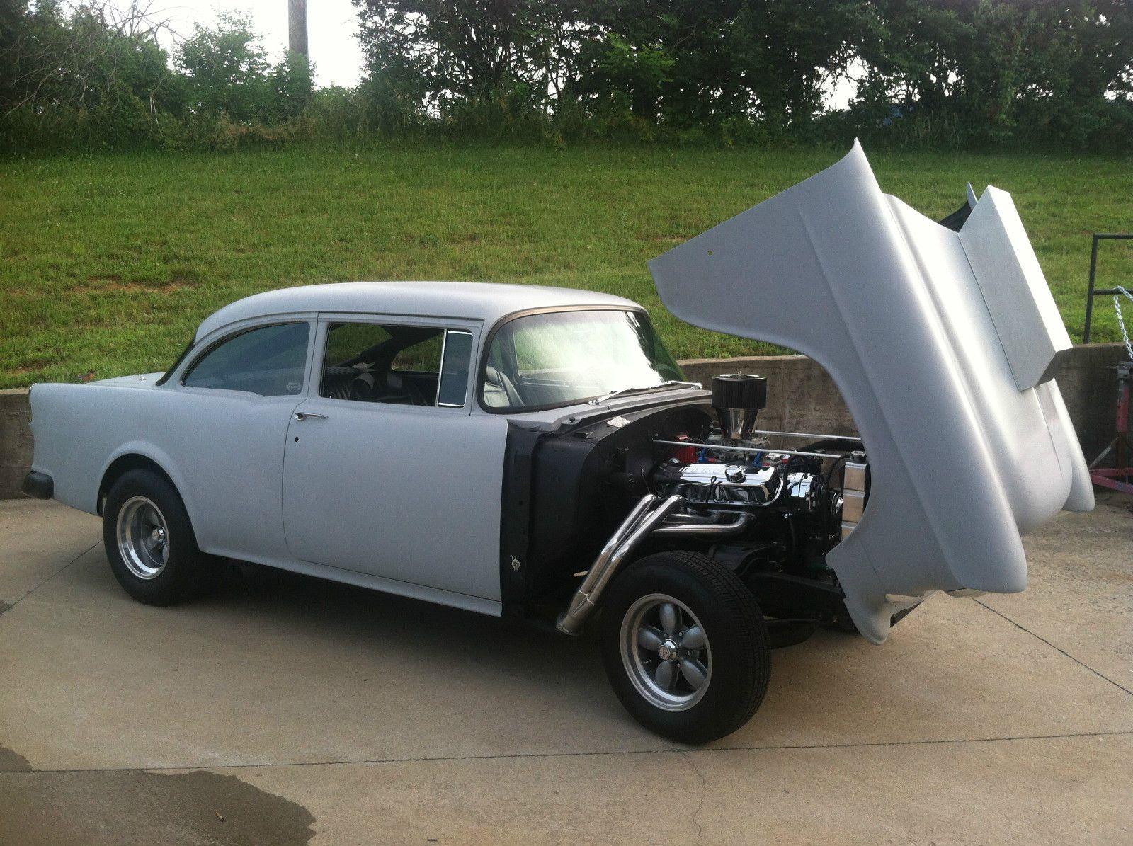 Chevrolet Bel Air 150 210 Two Lane Blacktop Gasser | eBay | 1955 ...