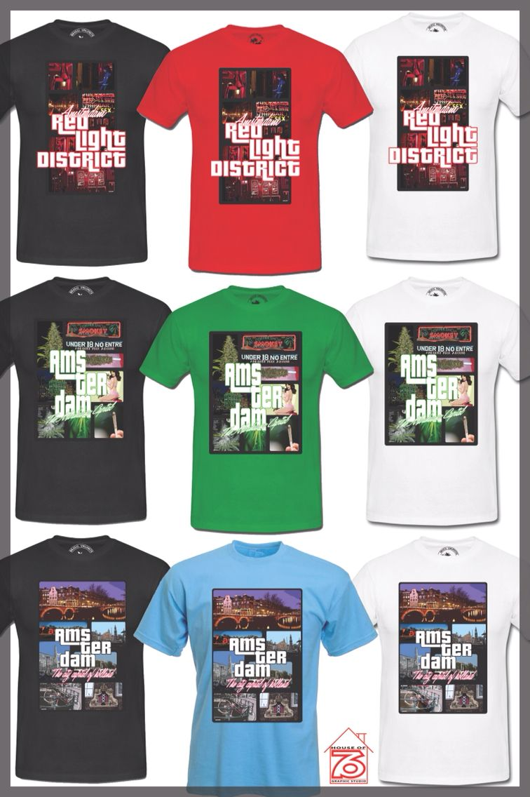 House Of 76 Amsterdam Exclusive T Shirts Grand Theft Auto
