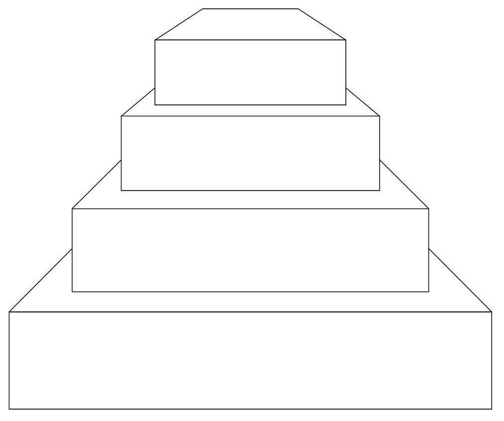 round cake template you can use all the sizes and have 3 dummies 6