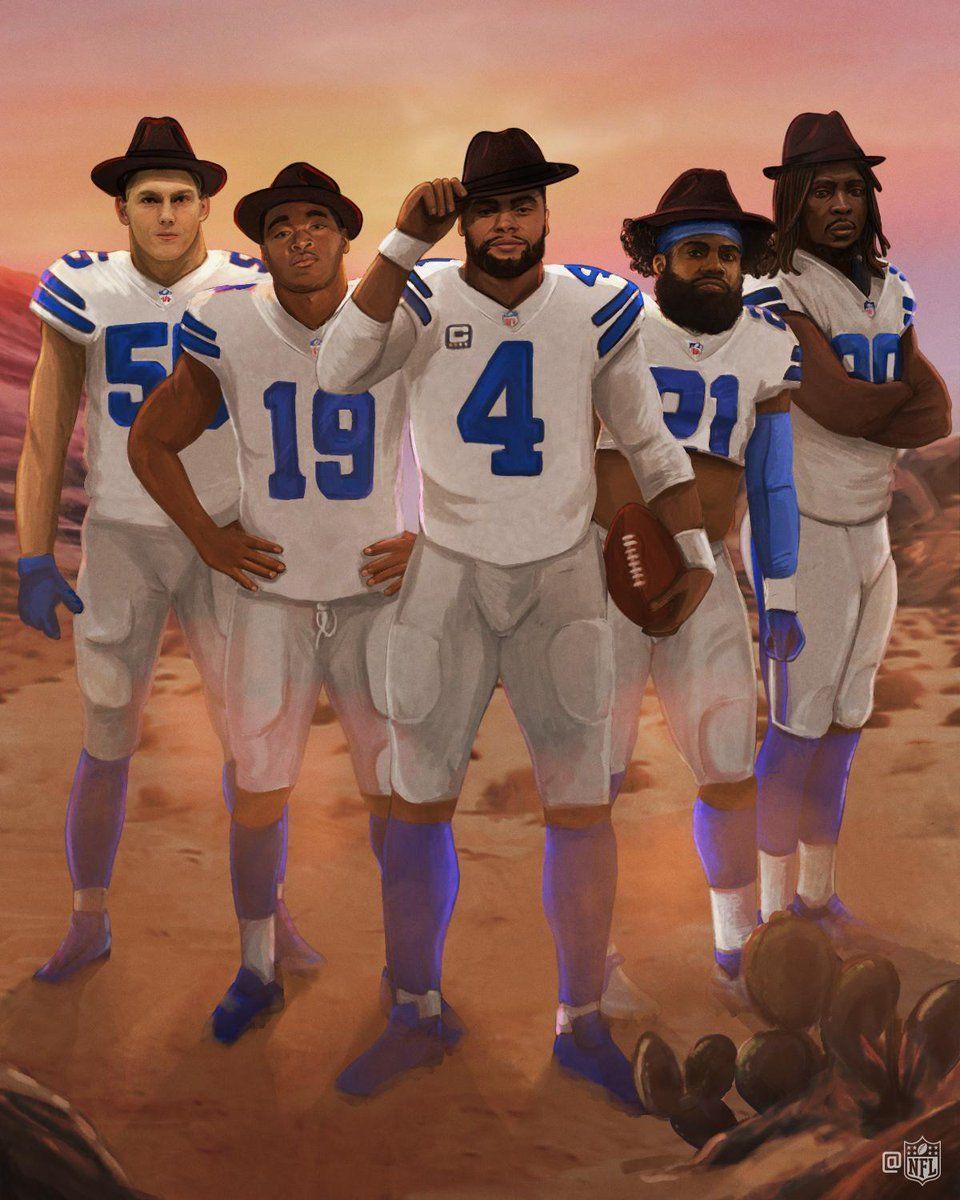 (4) Twitter Dallas cowboys players, Dallas cowboys