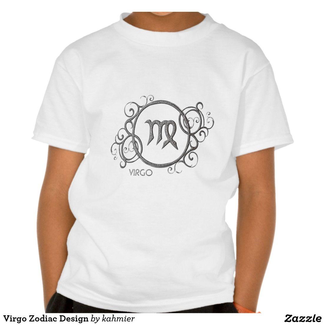 Virgo Zodiac Design Tees