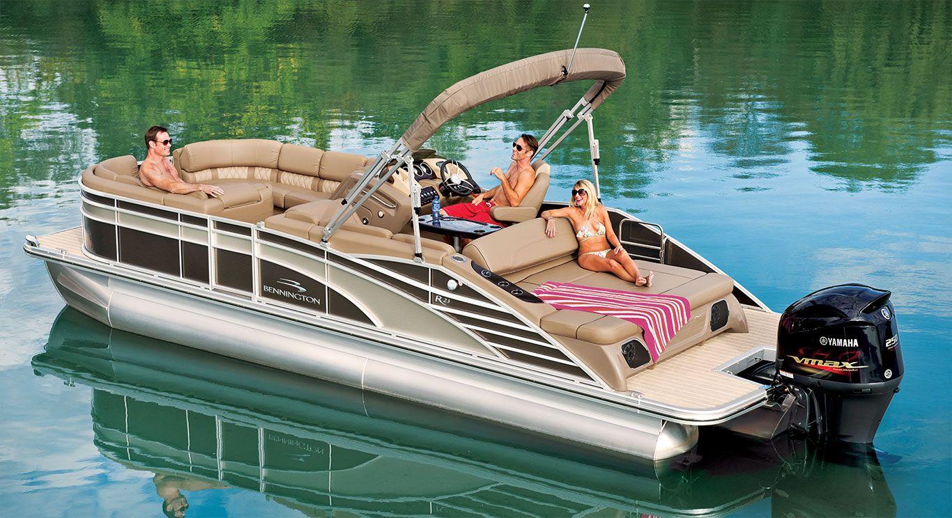 R23 Swingback Pontoon Boats By Bennington Pontoon Boat