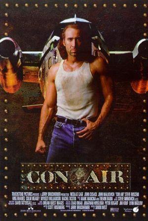 Con Air Air Movie Movie Posters Con Air