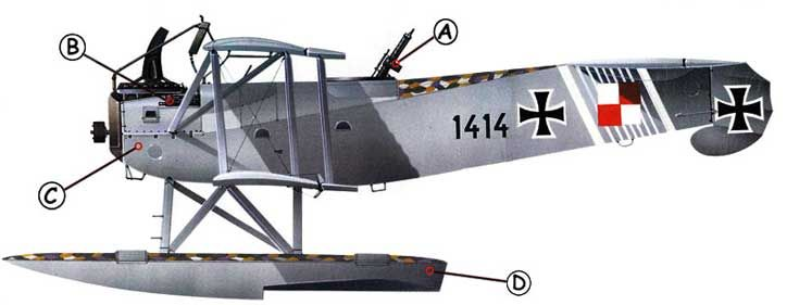 Hansa Bradenburg W29 Callout