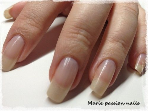 Nail Art Marie passion nails: Test Mava- White | Natural Nails ...