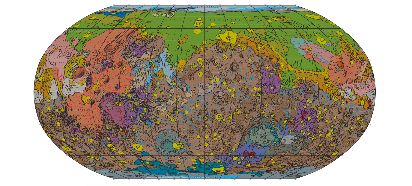 This Is the Most Detailed Map of Mars's Surface Ever Made