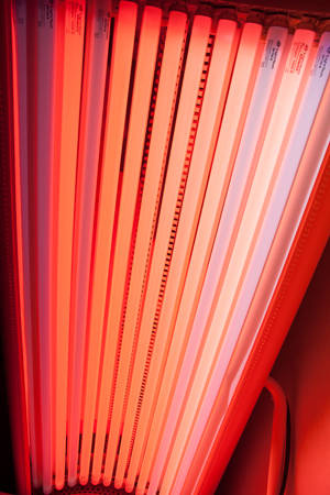 Red Light Therapy Tanning Beds For SkinRejuvenation The