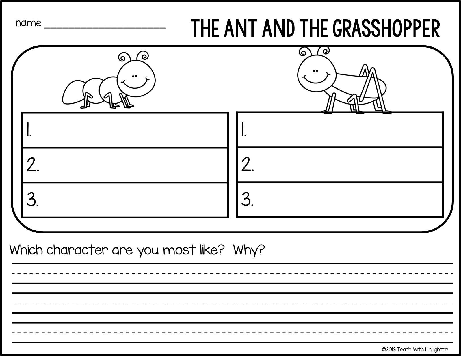 small resolution of Identifying Character Traits through Paired Texts—with FREE Download!    English worksheets for kids