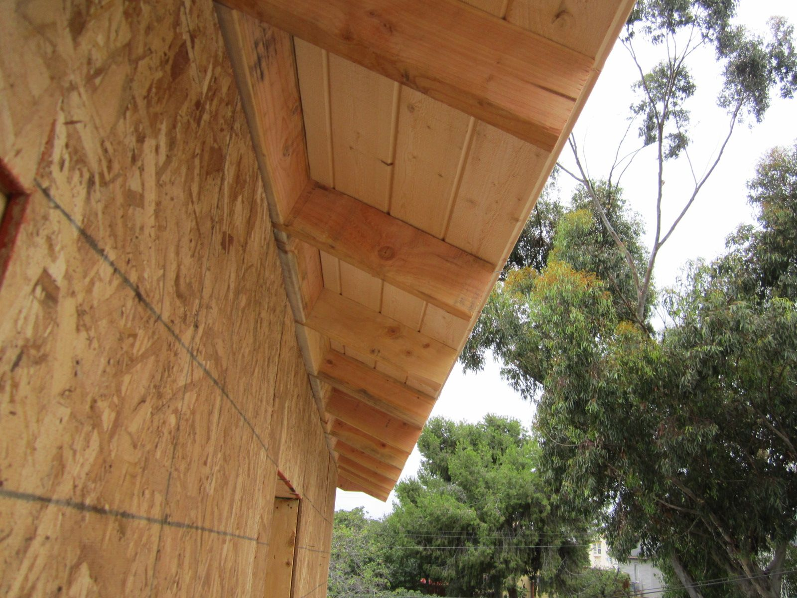 Not Just A Big Box Tom Tarrant Exposed Rafters House In The Woods Modern Bungalow