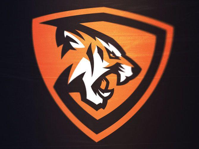 tigers mascot sports design pinterest logo design logos and