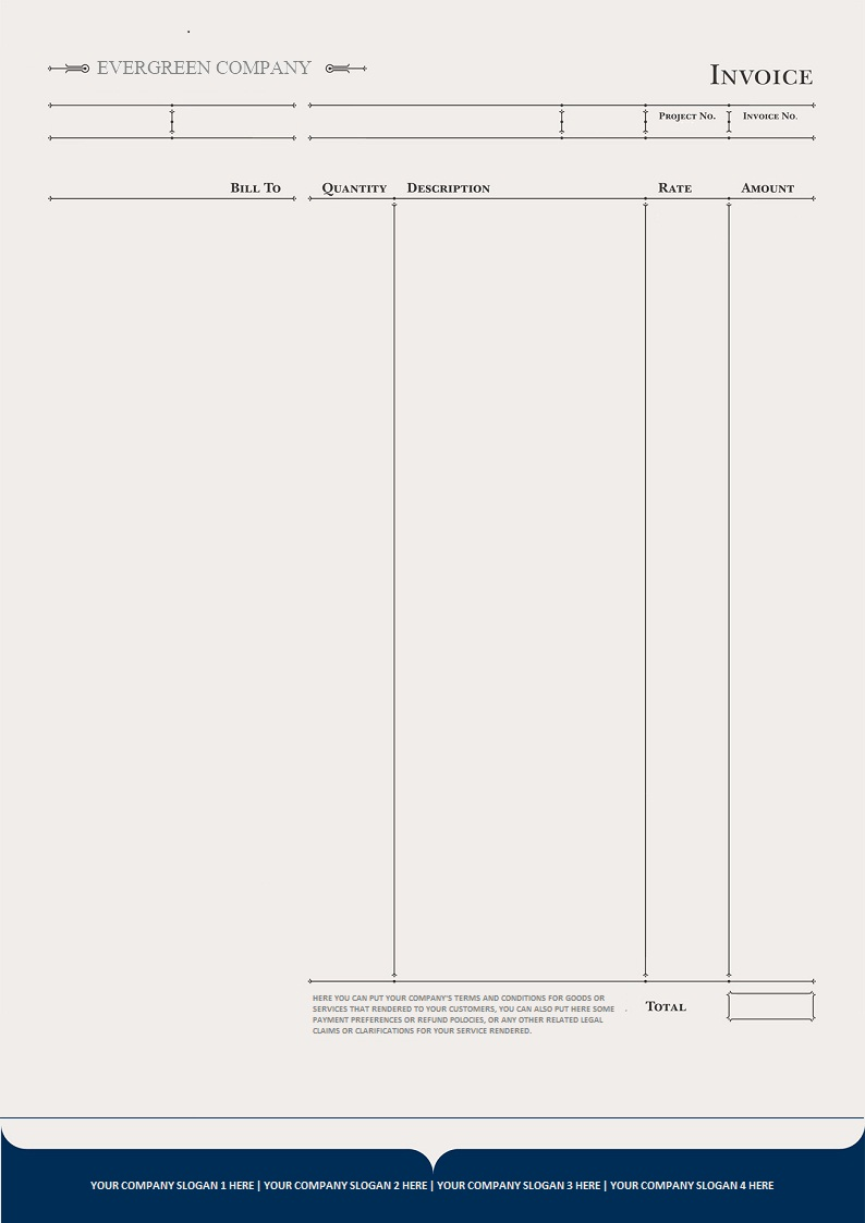 Legal Receipt Of Payment Brilliant Invoice Design  Stationary  Brochure  Pinterest  Template And .