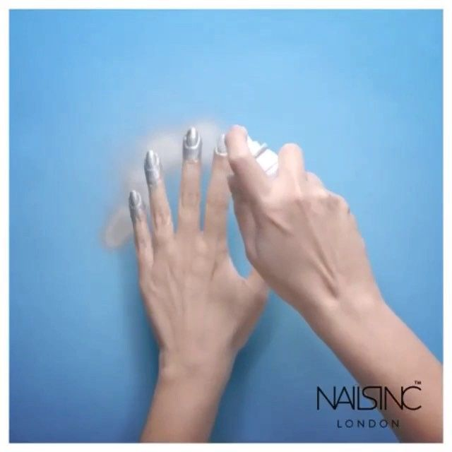 The first nail polish in a spray can #NailsInc launches the nails ...
