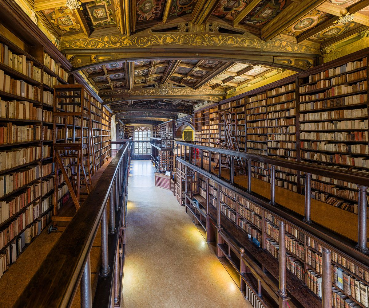 This Reading Room At The University Of Oxford Is One Of The Oldest In Europe 世界 幻想的 行ってみたい場所
