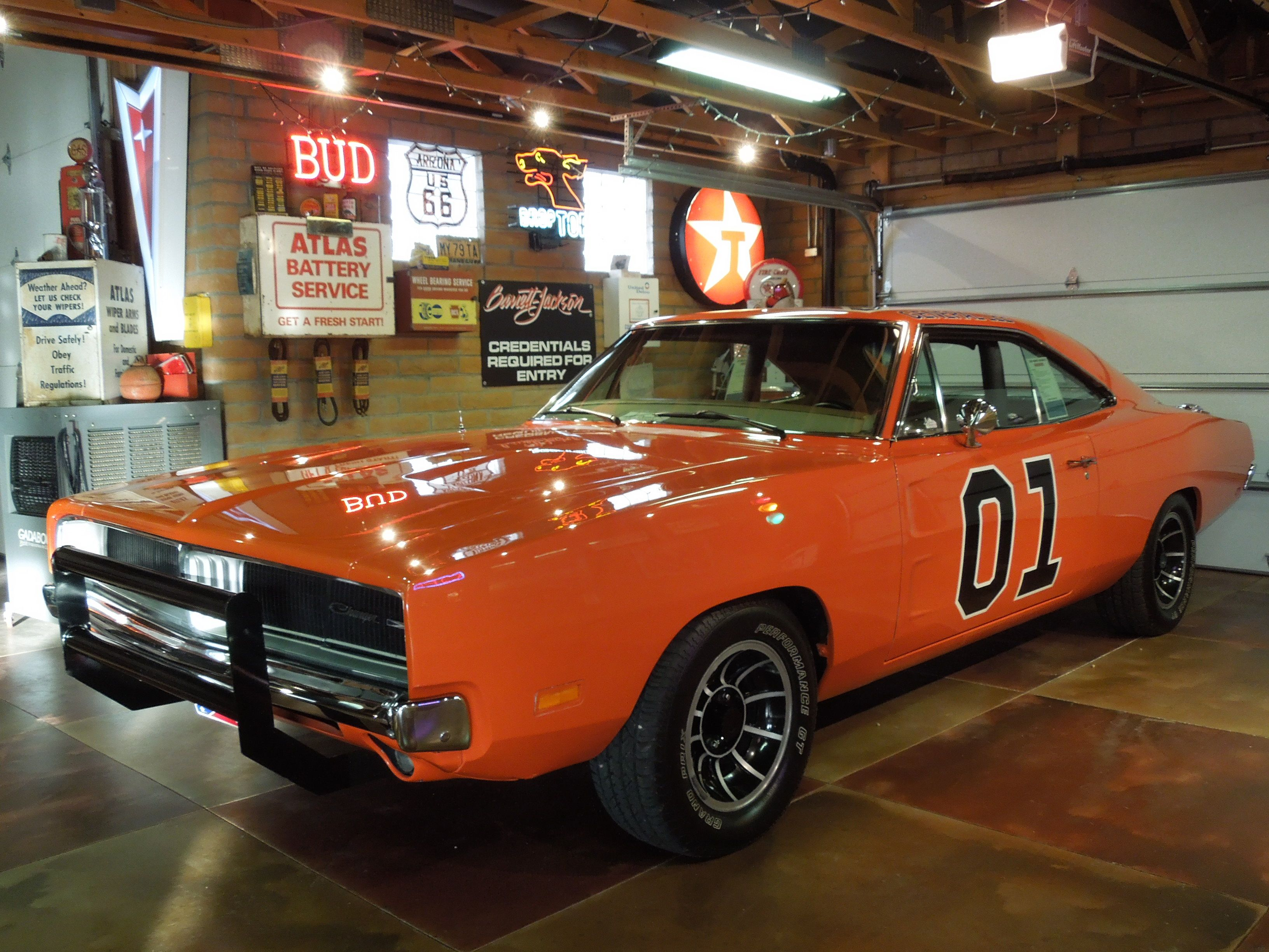 General Lee in the Desert DerelictSS Corporate HQ Garage | All My ...