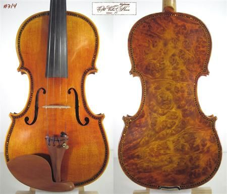 Image detail for -MOST BEAUTIFUL BIRD EYES MAPLE Violin ...