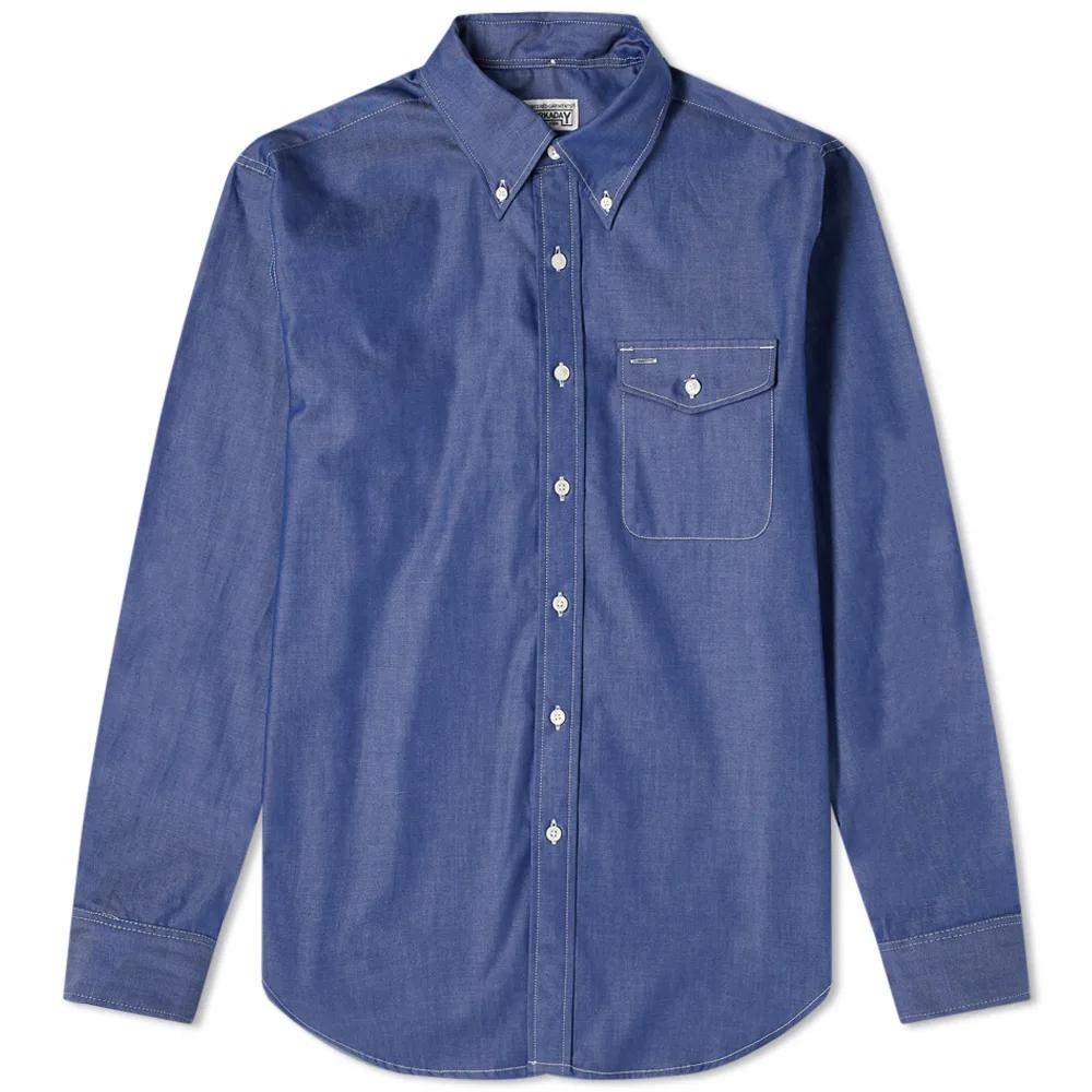 Engineered Garments Workaday Button Down Shirt Engineered Garments Retail Fashion Garment
