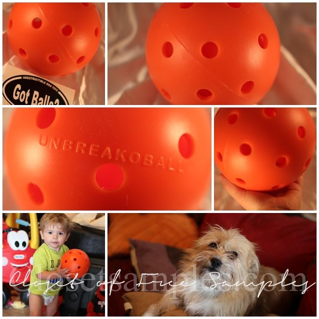 6 Unbreakoball Dog Toy 17 95 Review Free Samples By Mail