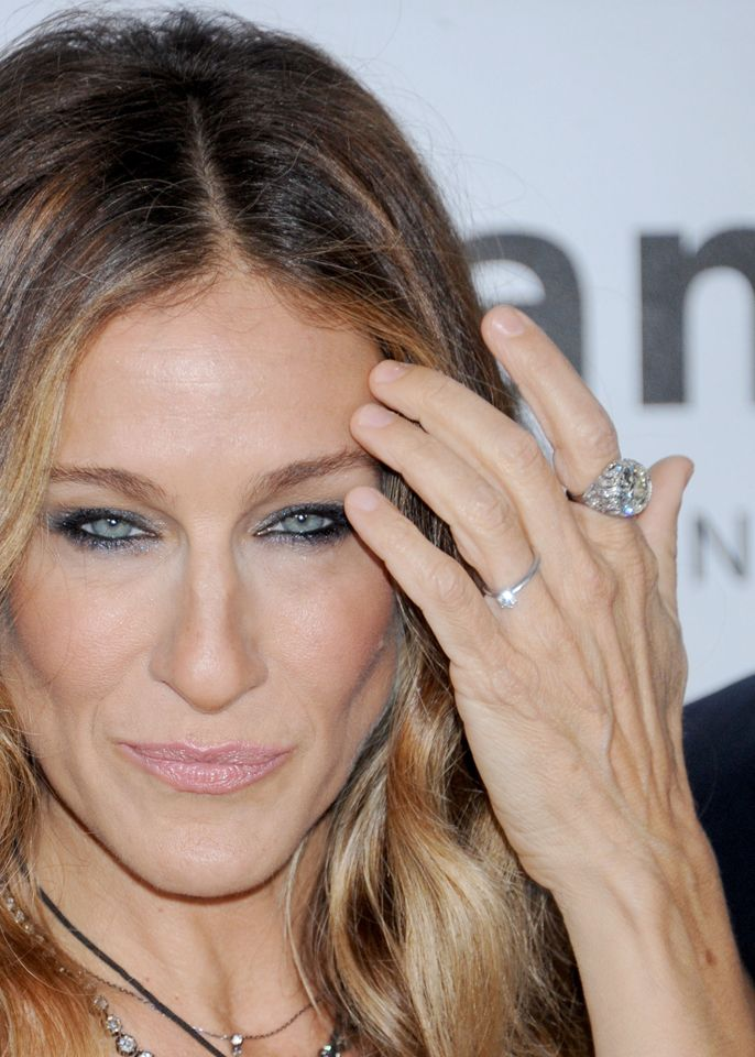 Sarah Jessica Parker Sjp S Mive Diamond Ring From Matthew Broderick Is So That Sometimes