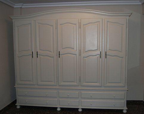 Voy a pintar todos mis muebles r sticos de blanco as como for Como pintar las puertas de blanco
