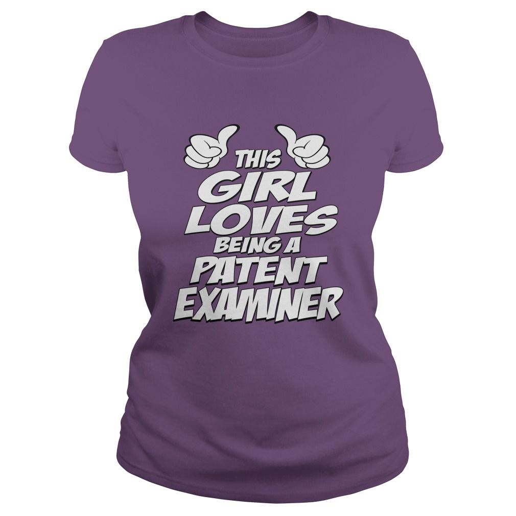 Being A Patent examiner T-Shirts, Hoodies. SHOPPING NOW ==► https://www.sunfrog.com/Jobs/Being-A-Patent-examiner-Shirt-Purple-Ladies.html?id=41382