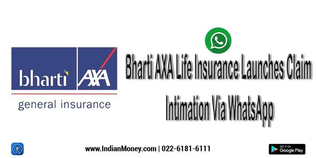Bharti Axa Life Insurance Launches Claim Intimation Via Whatsapp