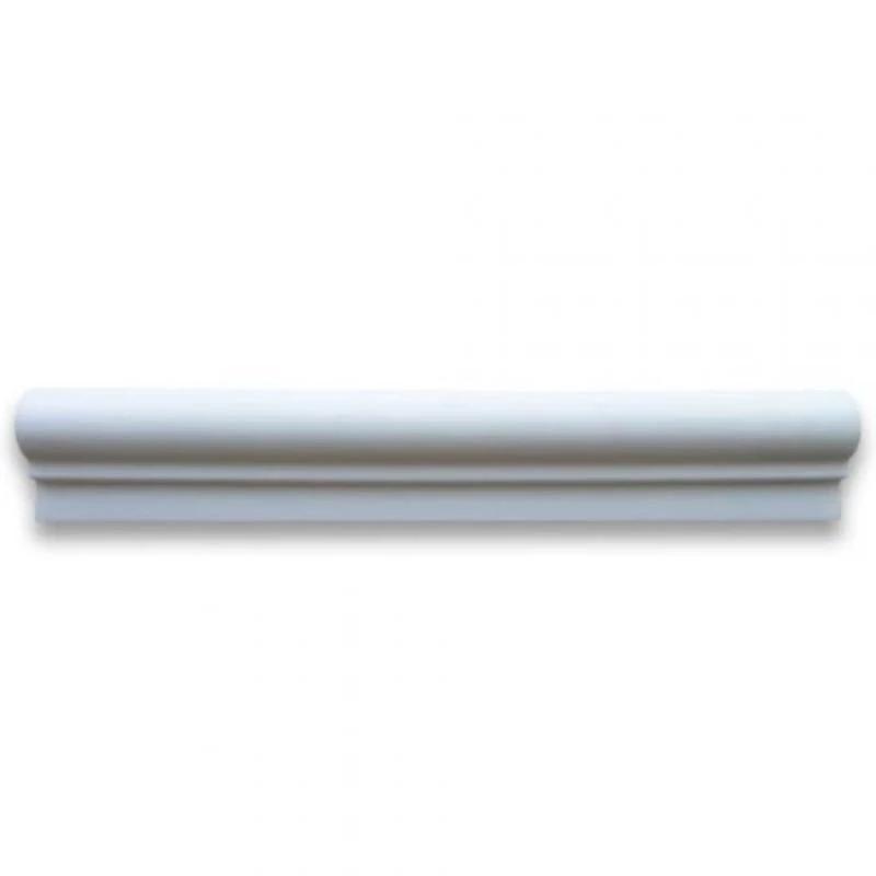Thassos White Polished Andorra Marble Moldings 2x12 |Thassos Marble 2x12
