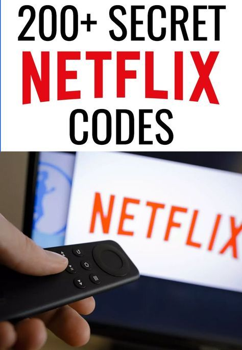 The Big List of 200+ Secret Netflix Codes - Love and Marriage