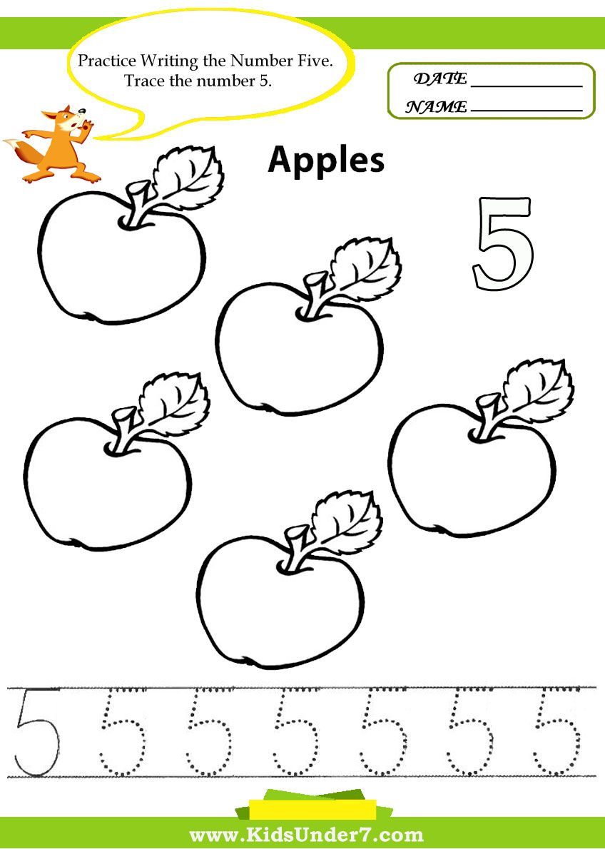 Numbers Worksheets.Number tracing 1-10.Tracing Numbers - Printable ...