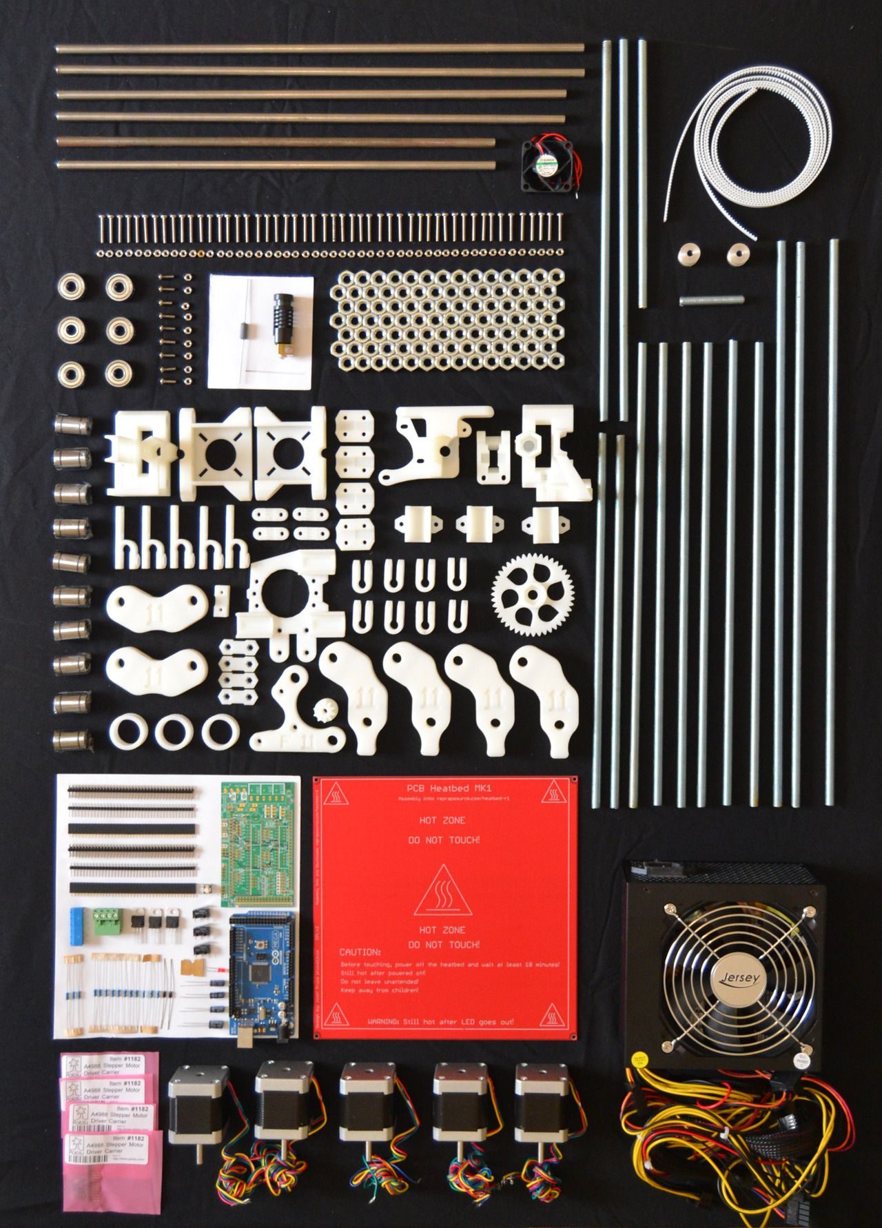 Things Organized Neatly Tumblr Yes This Makes Me Happy Digital Arduino Controlled Cnc 3d Printer Hybrid Wiring The Electronics Diy Router