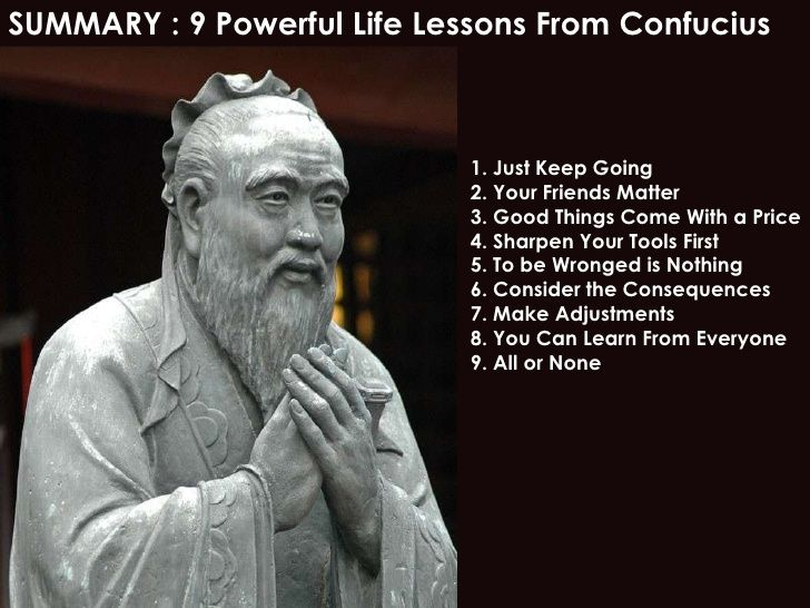 Famous Confucius Quotes 9 Powerful Life Lessons From Confucius  Inspirational  Pinterest .