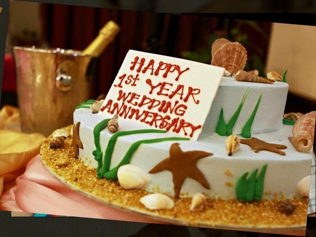 1st year wedding anniversary cake anniversaries pinterest wedding anniversary