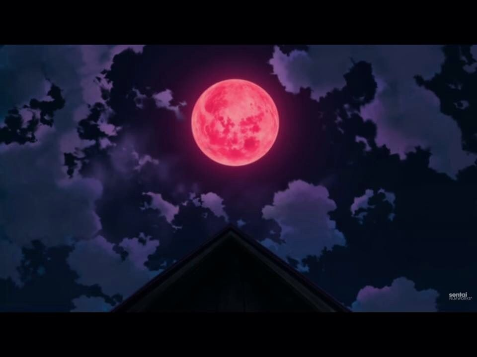 Pin By Isabelle Tolley On Anime Moon Collect Anime Places Anime Moon Great Backgrounds Anime wallpaper red moon