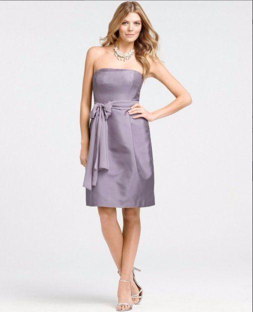 Details About 235 Ann Taylor Lavender Purple Silk Dupioni Silk
