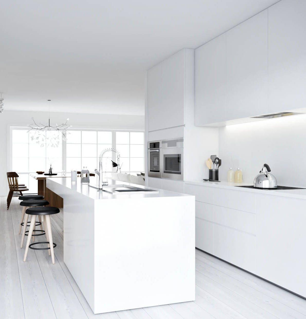 Cocinas Blancas, Cocinas