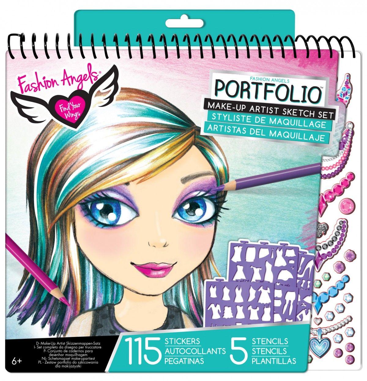 Magical Mermaid Compact Sketch Portfolio