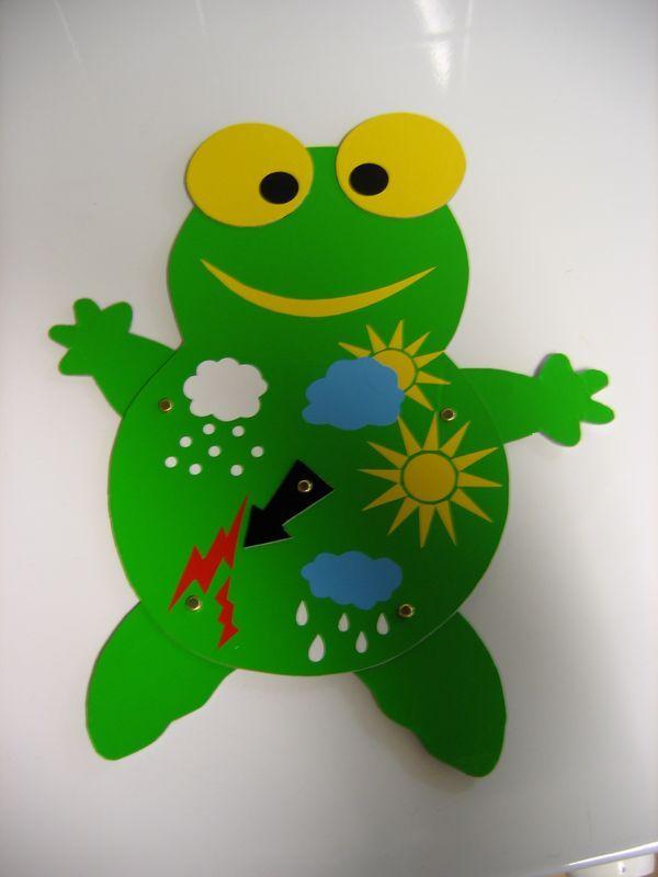 Grenouille m t o grenouilles pinterest papier 3d - Meteo petite foret ...