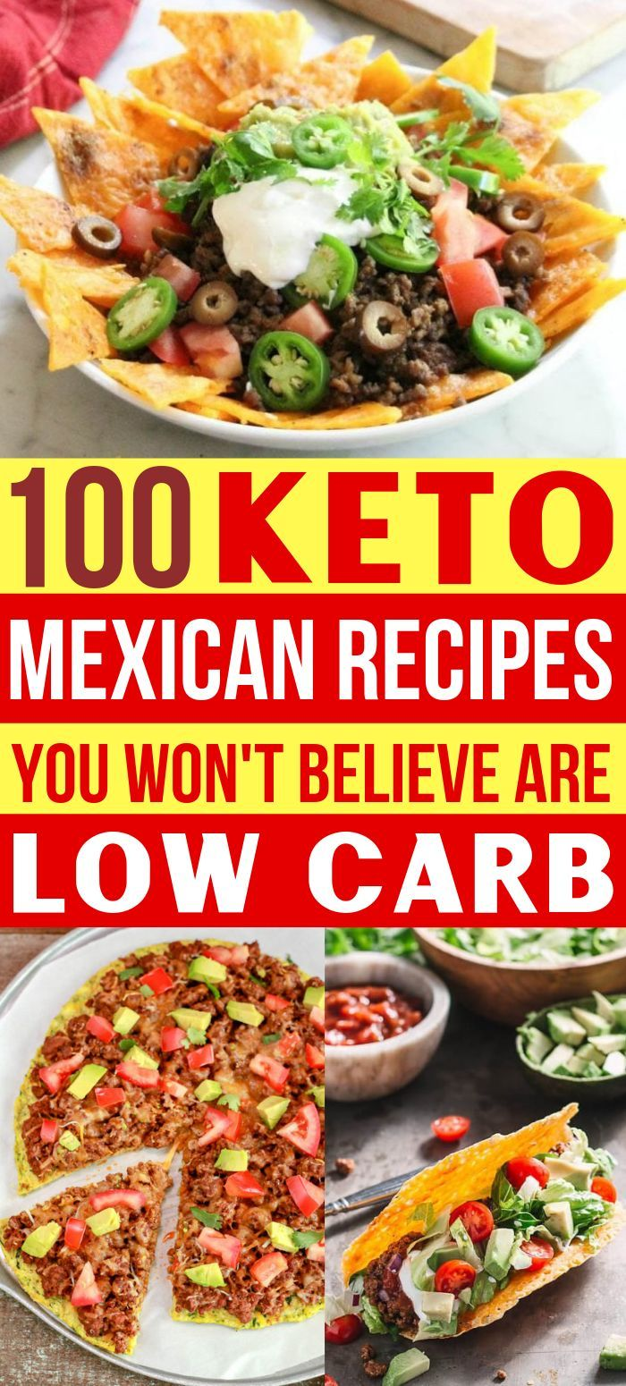 Keto Mexican Food 100 Easy Low Carb Mexican Recipes Keto Diet Meal Plan Mexican Food Recipes Ketogenic Diet Meal Plan