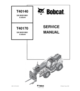 Best download bobcat t40140 t40170 telescopic handler