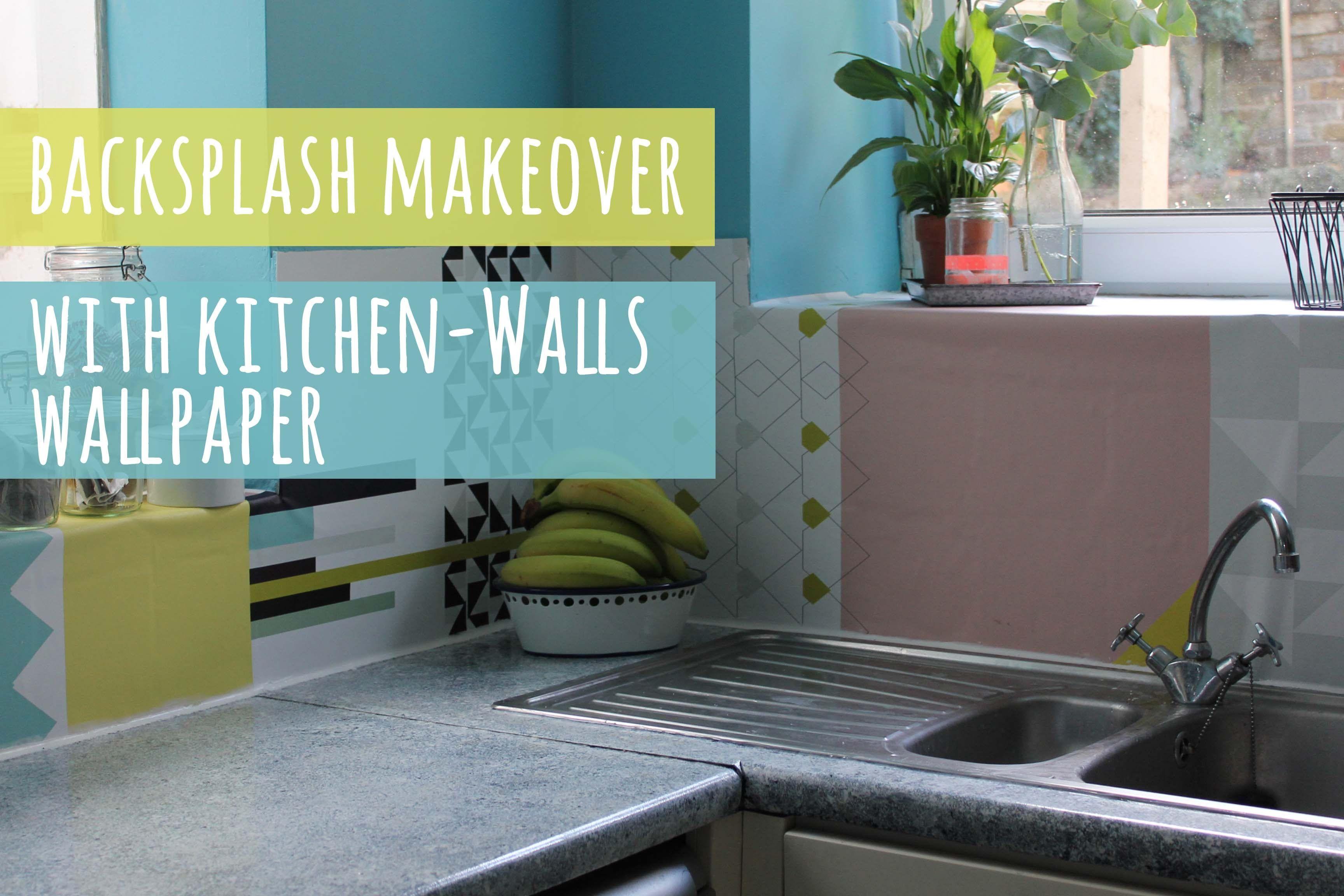Backsplash Update With Wallpaper Kitchen Tiles Design Stacked Stone Backsplash Backsplash
