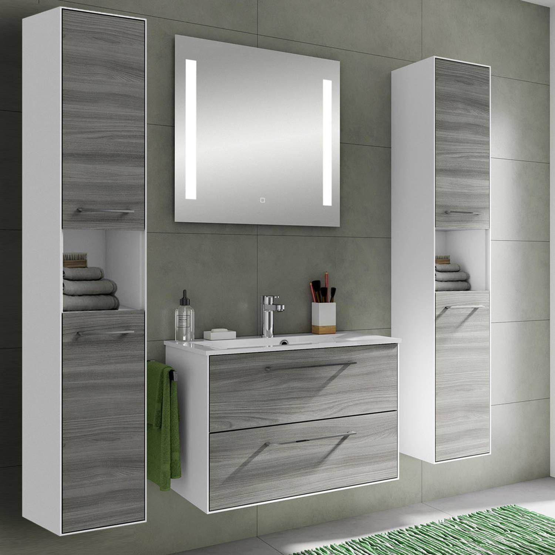 schöne badmöbel günstig  badezimmermöbel set hochglanz