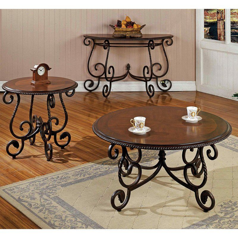Uecker 48 Console Table Coffee Table Wrought Iron Table Spanish Style Decor