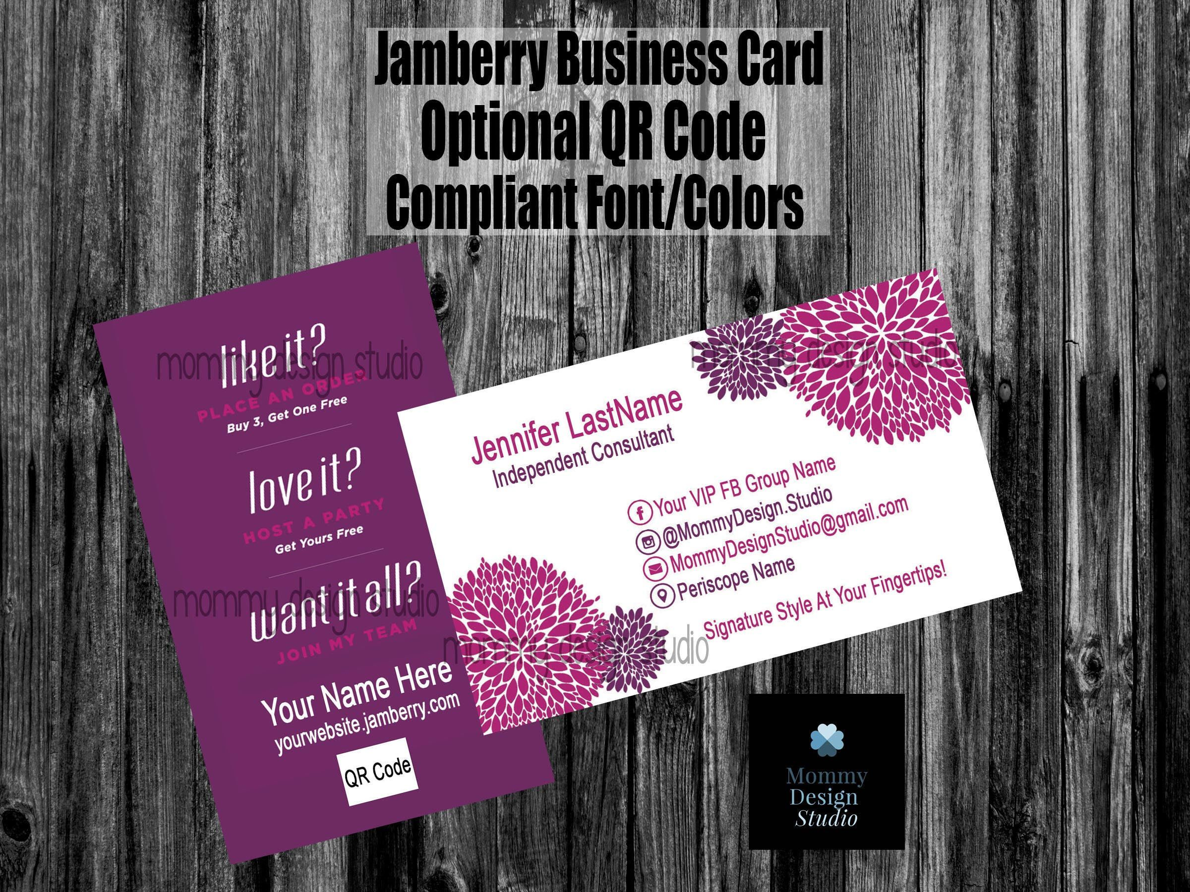 19 best jamberry business cards images on pinterest