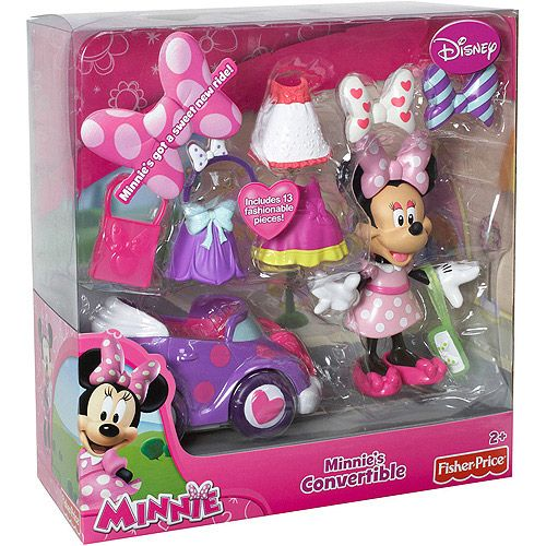 Fisher Price Minnie Mouse S Convertible Play Set Dolls