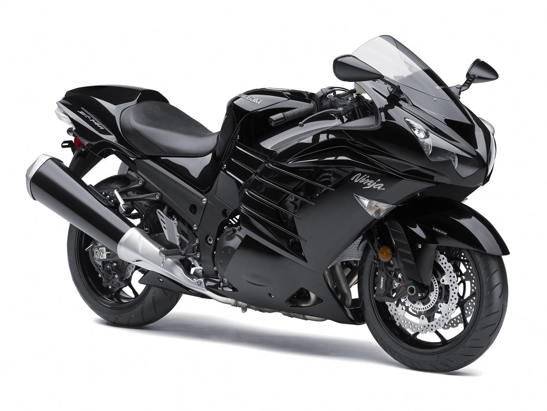 Kawasaki Ninja ZX 14R 2012 Black   Motorcycles   Pinterest ...
